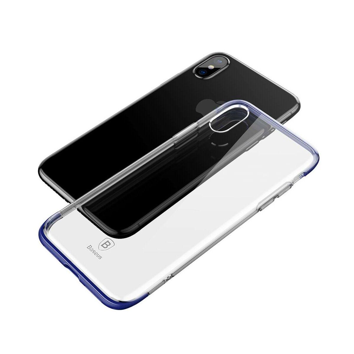 Baseus iPhone X/XS tok, Armor, kék (WIAPIPHX-YJ03)