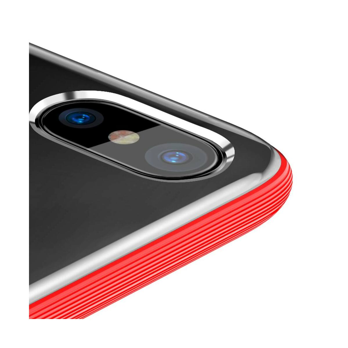 Baseus iPhone X/XS tok, Armor, piros (WIAPIPHX-YJ09)