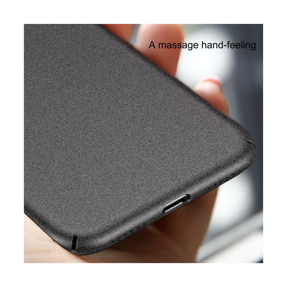 Baseus iPhone X/XS tok, Meteorite, fekete (WIAPIPHX-YU01)