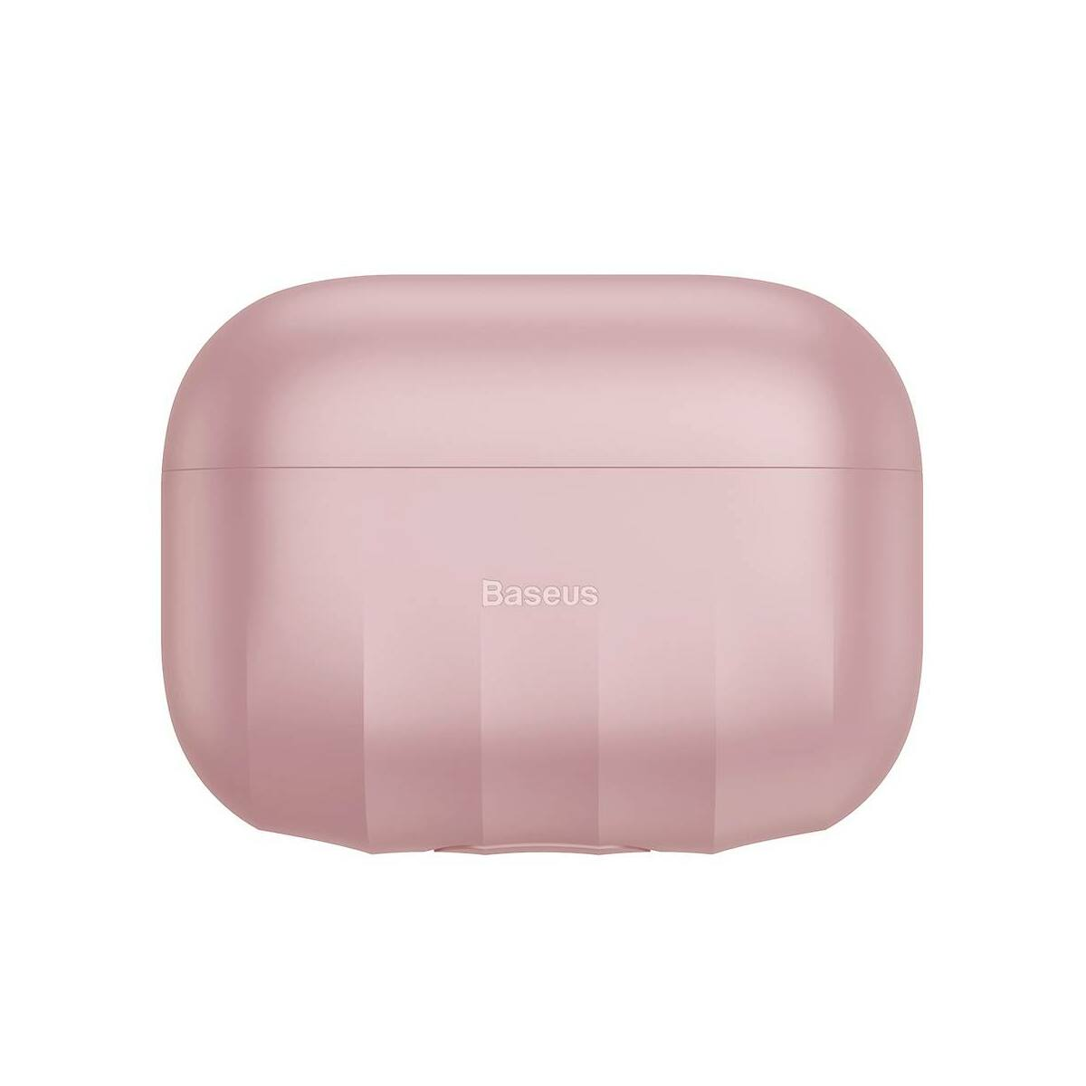 Baseus AirPods Pro tok, Shell pattern szilikon, rózsaszín (WIAPPOD-BK04)