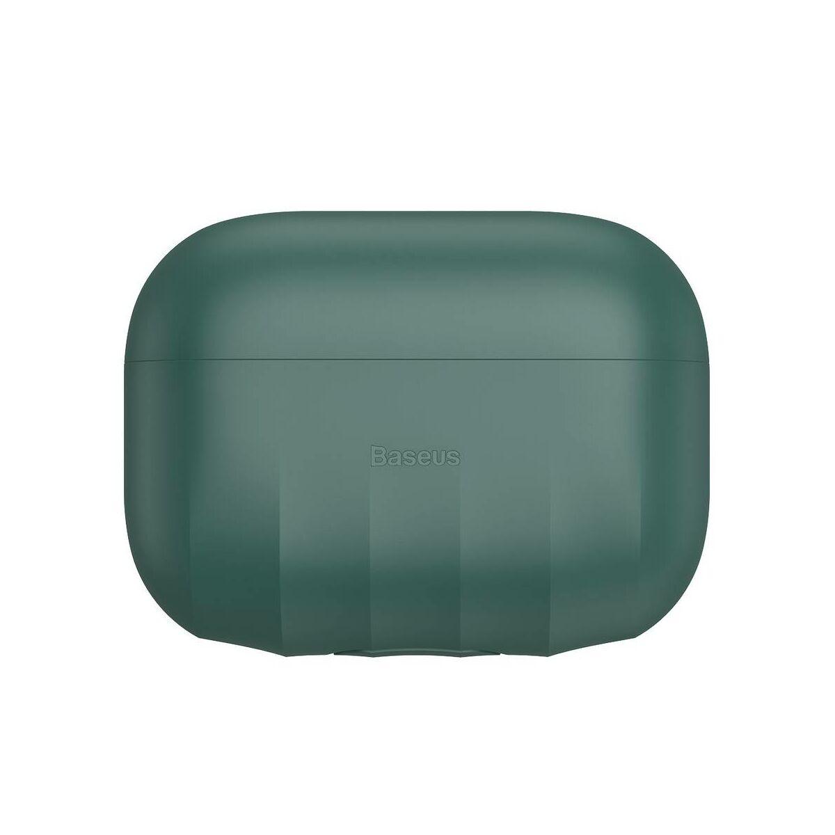 Baseus AirPods Pro tok, Shell pattern szilikon, zöld (WIAPPOD-BK06)