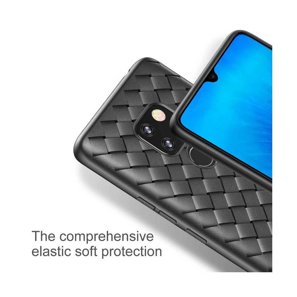 Baseus Huawei Mate 20 tok, BV Weaving, fekete (WIHWMATE20-BV01)