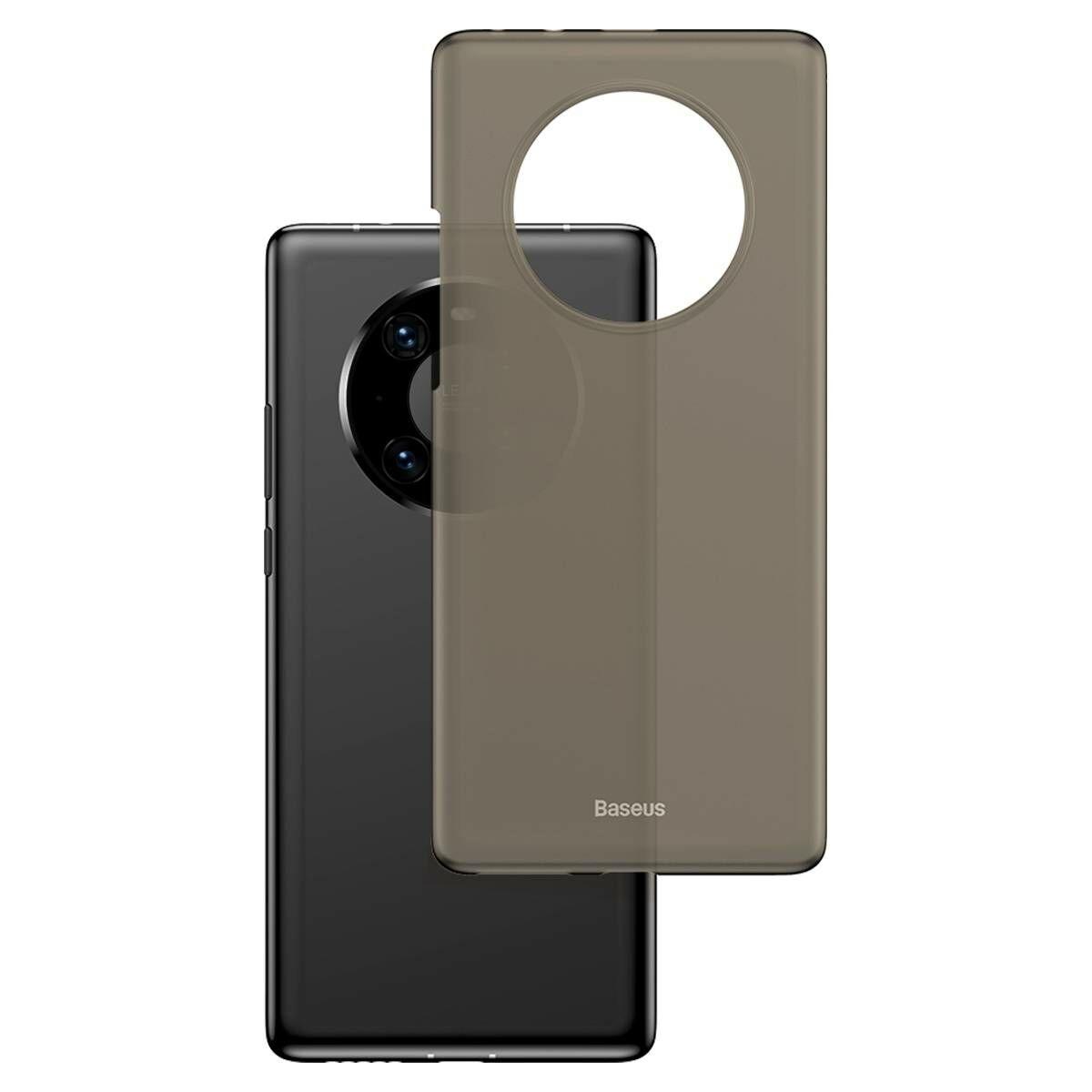 Baseus Huawei Mate 40 tok, Wing, fekete (WIHWMATE40-01)