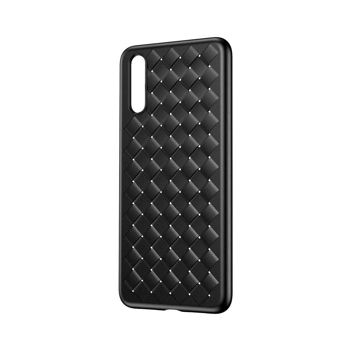Baseus Huawei P20 tok, BV Weaving, fekete (WIHWP20-BV01)