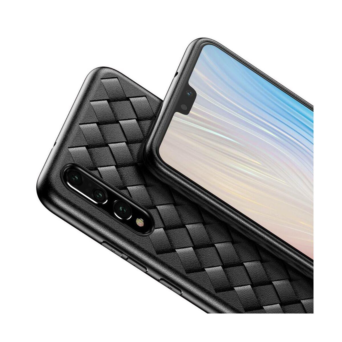 Baseus Huawei P20 Pro tok, BV Weaving, fekete (WIHWP20P-BV01)