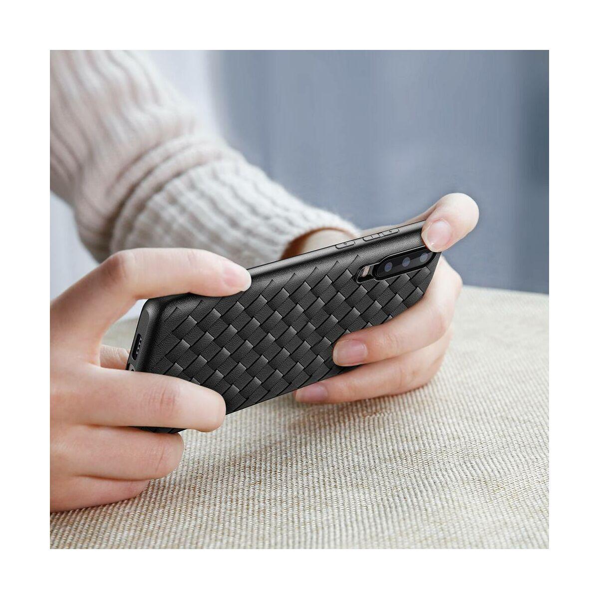 Baseus Huawei P30 tok, Weaving, fekete (WIHWP30-BV01)