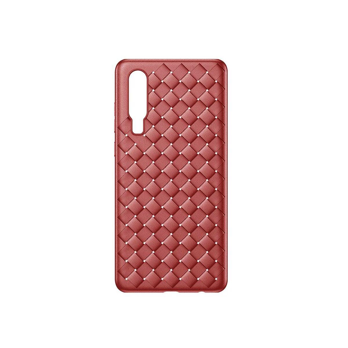 Baseus Huawei P30 tok, Weaving, piros (WIHWP30-BV09)