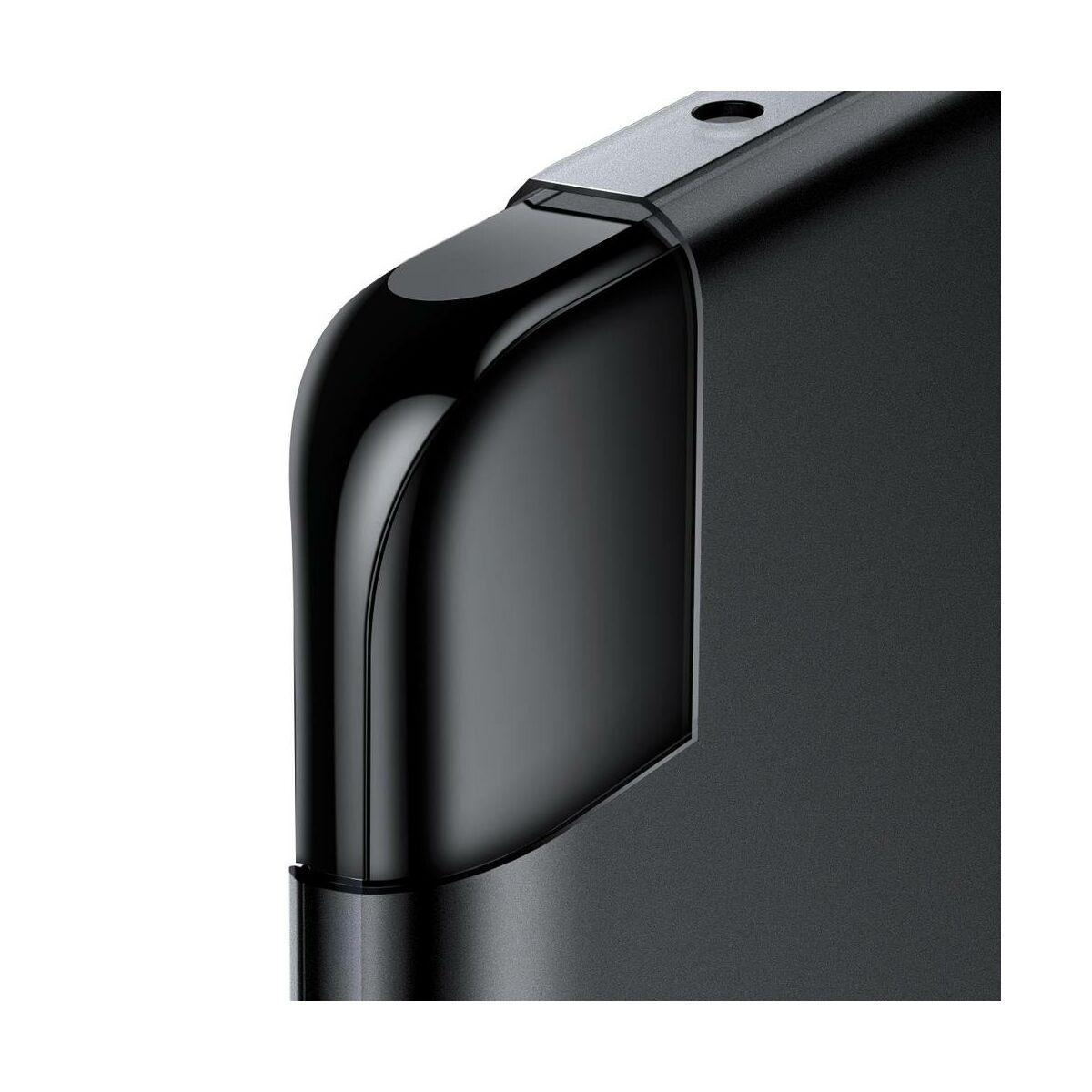 Baseus Huawei P30 Pro tok, Wing, átlátszó fekete (WIHWP30P-01)
