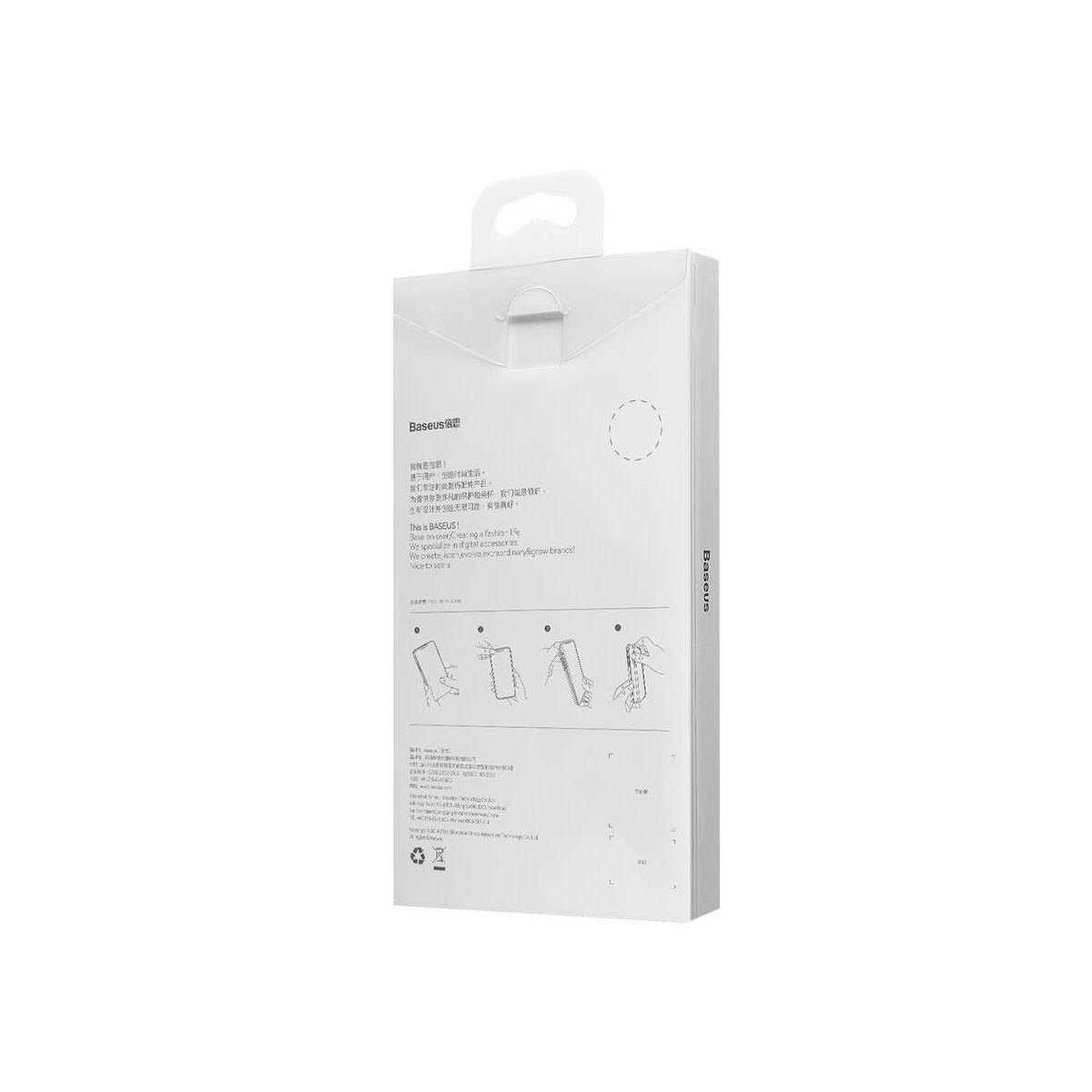 Baseus Huawei P30 Pro tok, Weaving, fekete (WIHWP30P-BV01)