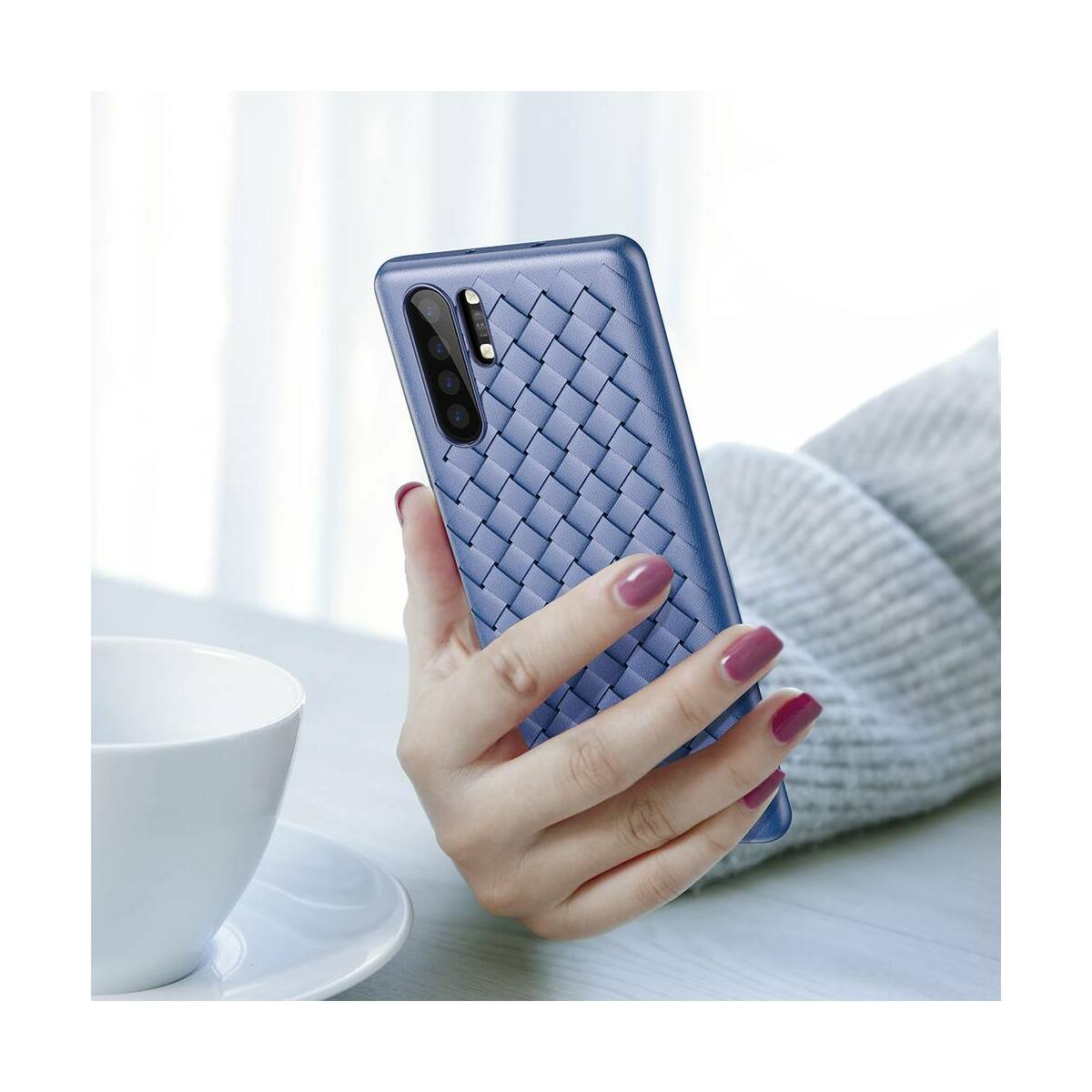 Baseus Huawei P30 Pro tok, Weaving, kék (WIHWP30P-BV03)
