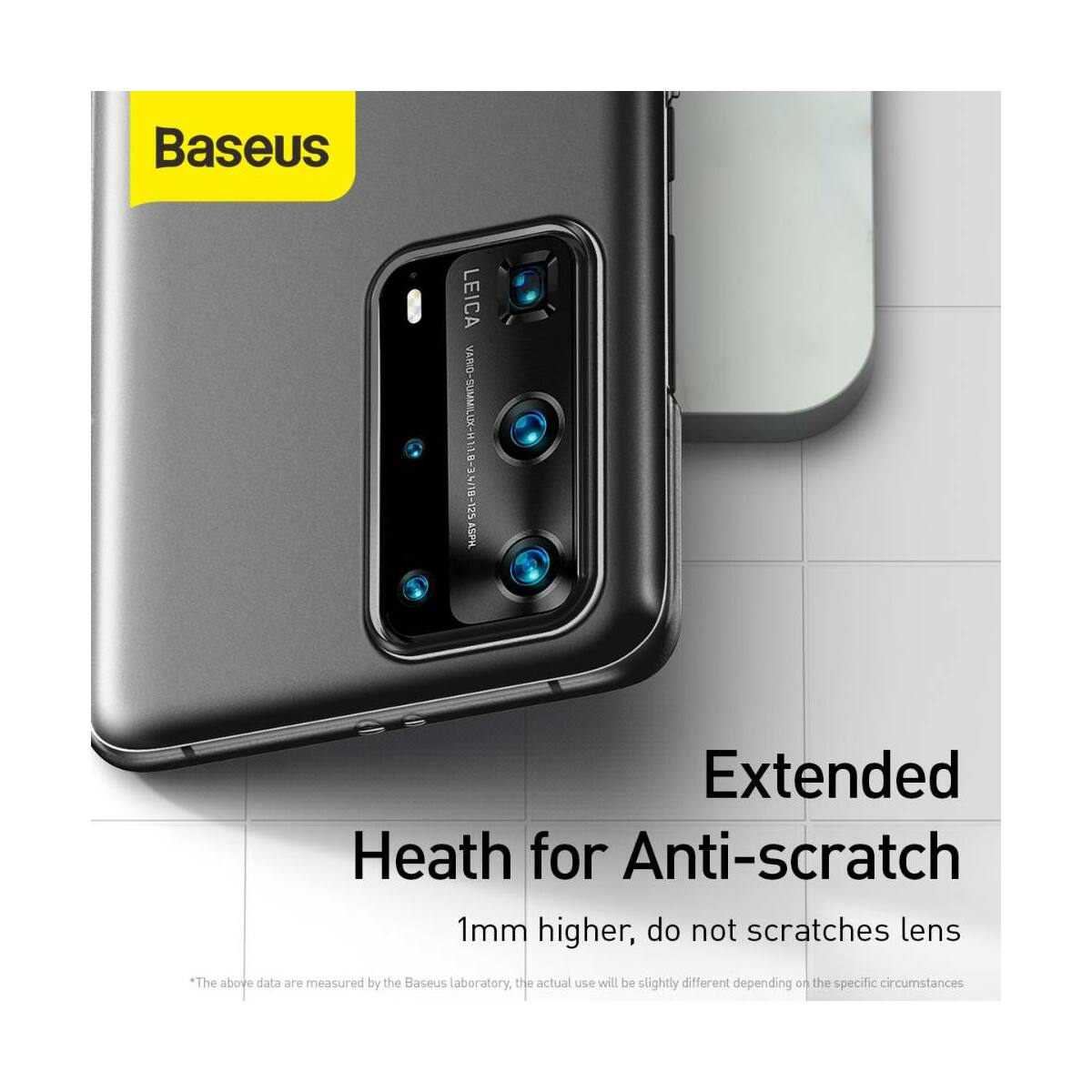 Baseus Huawei P40 Pro Plus tok, Wing, fekete (WIHWP40PR-01)