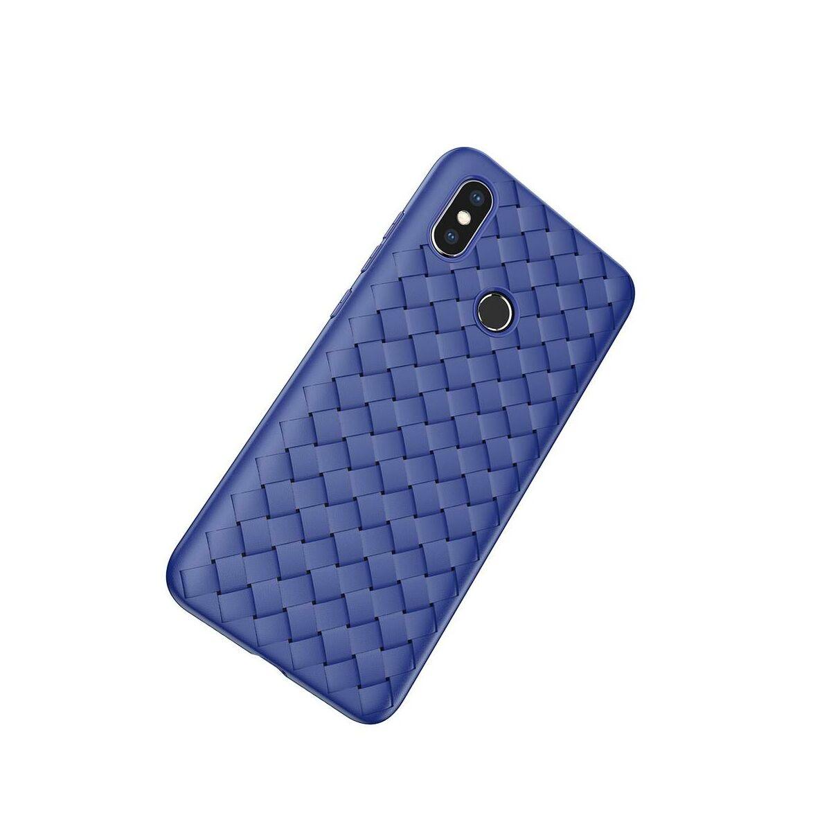 Baseus Xiaomi MI 8 tok, BV Weaving, kék (WIMIM8-BV03)