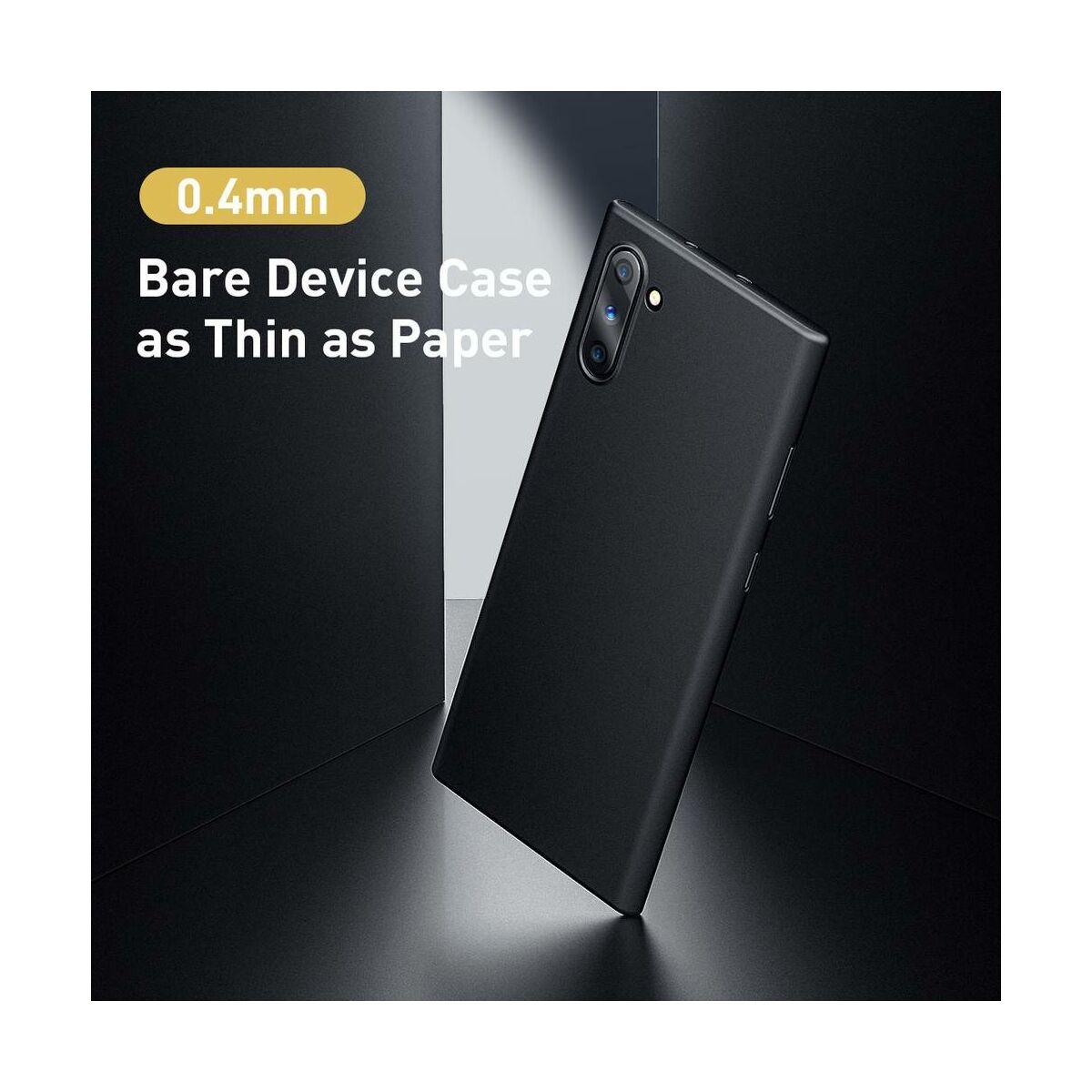 Baseus Samsung Note 10 tok, Wing, fekete (WISANOTE10-01)