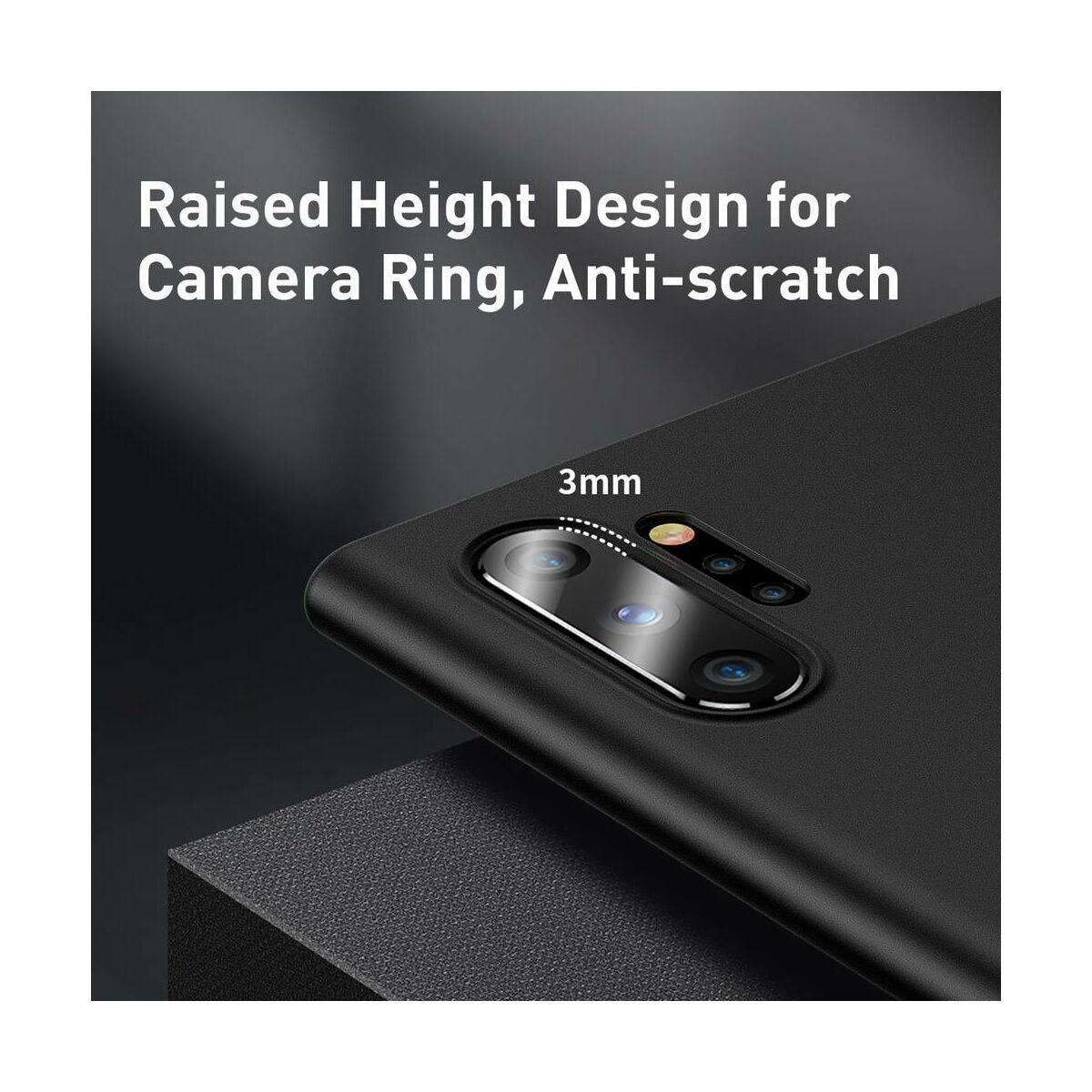 Baseus Samsung Note 10 Plus tok, Wing, fekete (WISANOTE10P-01)