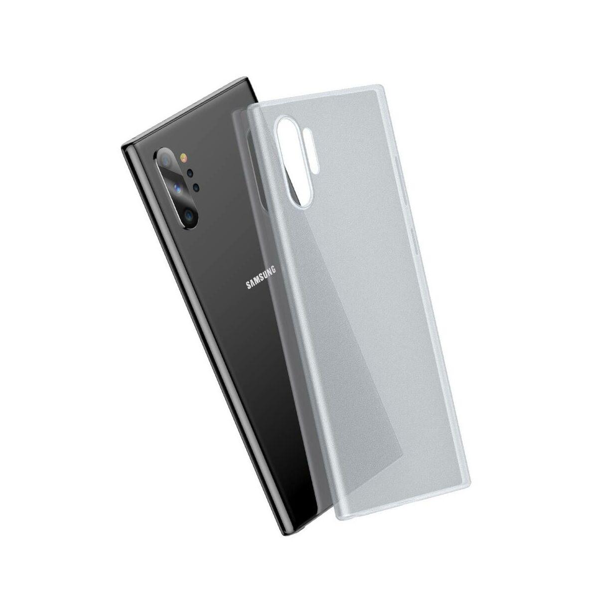 Baseus Samsung Note 10 Plus tok, Wing, fehér (WISANOTE10P-02)