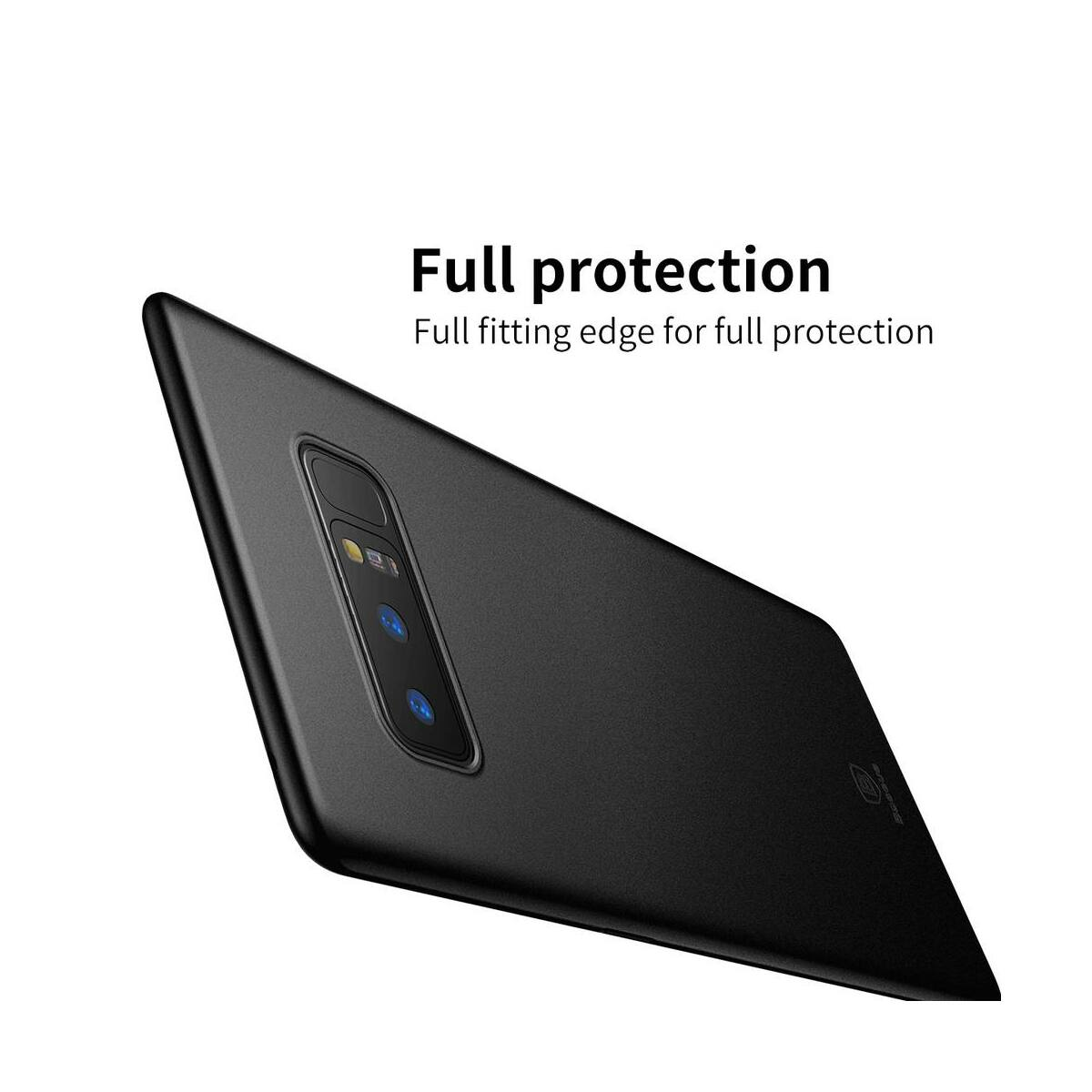 Baseus Samsung Note 8 tok, Wing, fekete (WISANOTE8-A01)
