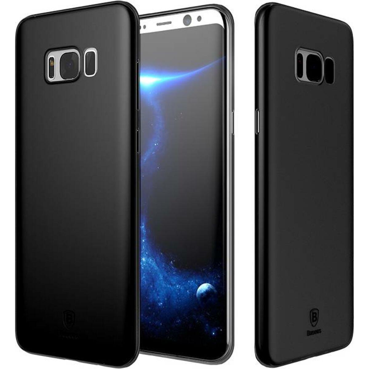 Baseus Samsung S8 Plus tok, Wing, fekete (WISAS8P-A01)
