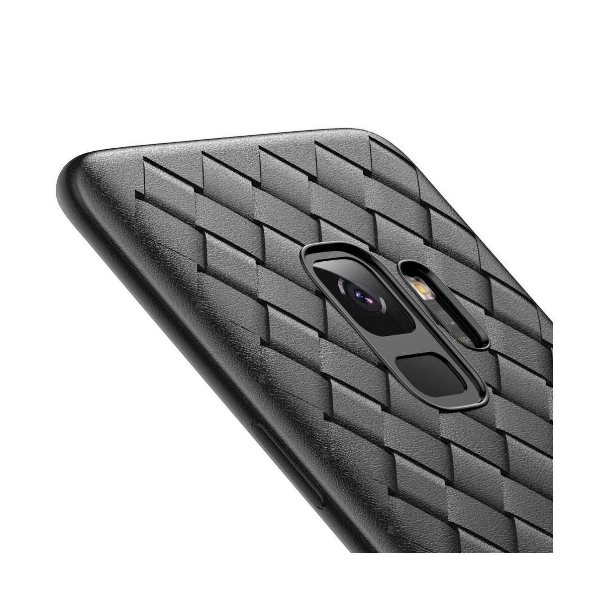 Baseus Samsung S9 tok, BV Weaving, fekete (WISAS9-BV01)