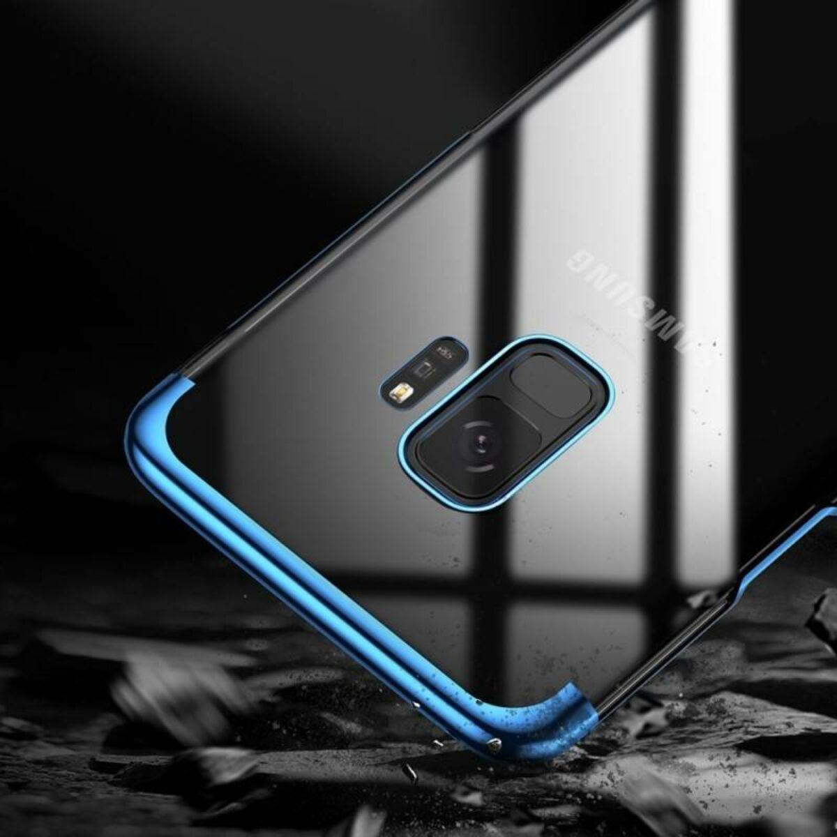 Baseus Samsung S9 tok, Glitter, kék (WISAS9-DW03)