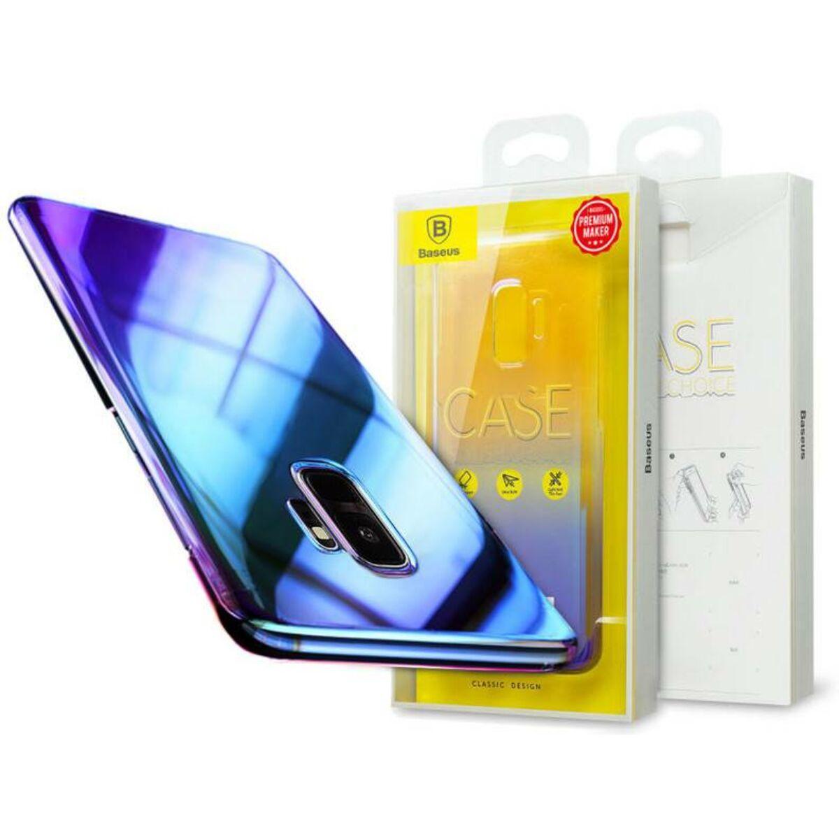 Baseus Samsung S9 tok, Glaze, fekete (WISAS9-GC01)