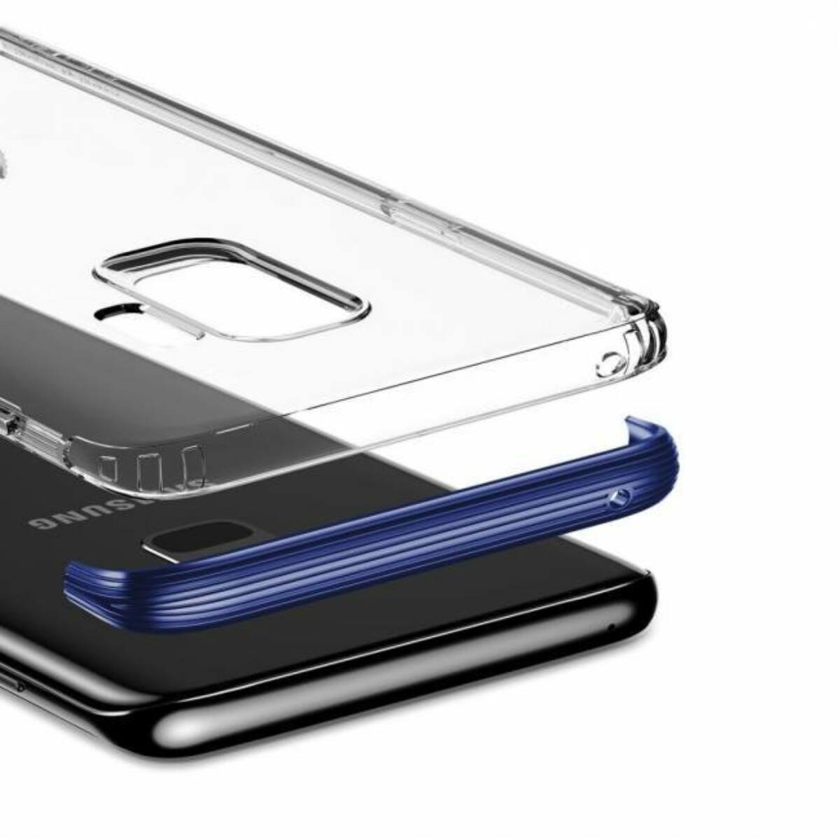 Baseus Samsung S9 tok, Armor, kék (WISAS9-YJ03)