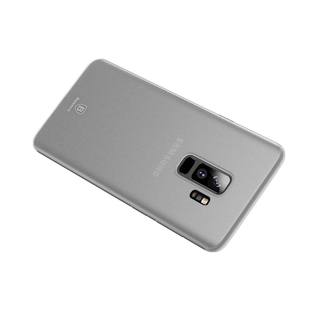 Baseus Samsung S9 Plus tok, Wing, fehér (WISAS9P-02)