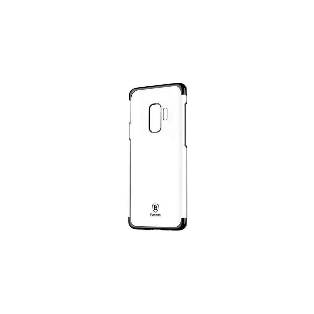Baseus Samsung S9 Plus tok, Glitter, fekete (WISAS9P-DW01)