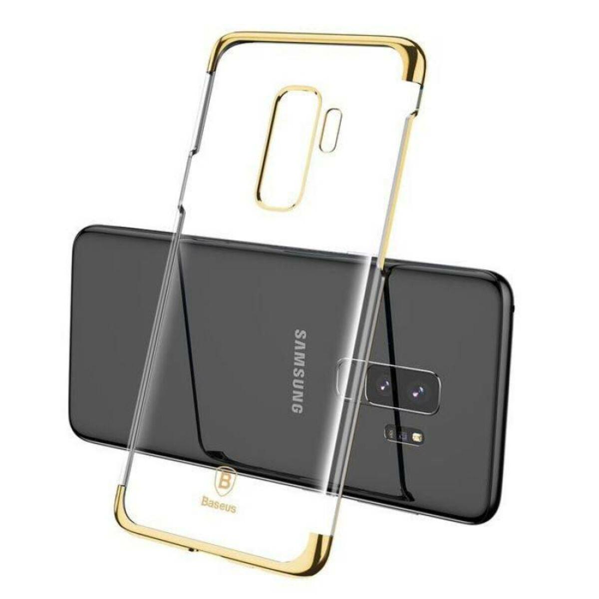 Baseus Samsung S9 Plus tok, Glitter, arany (WISAS9P-DW0V)