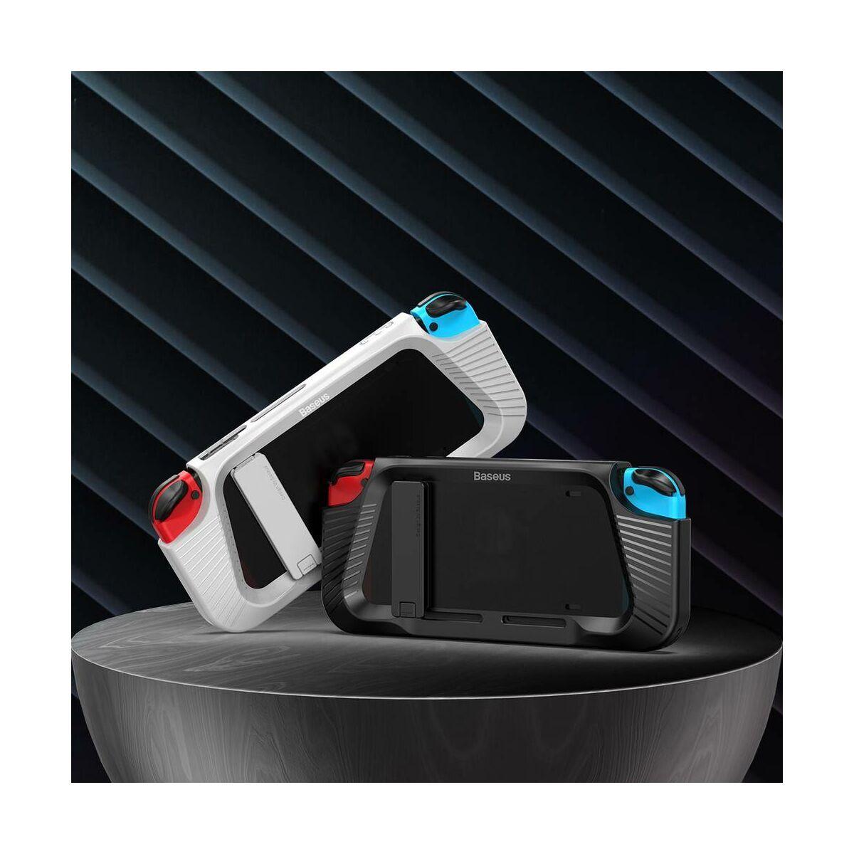Baseus játék eszköz, Nintendo Switch SW ütésálló konzol védőtok GS02, szürke (WISWGS02-0G)