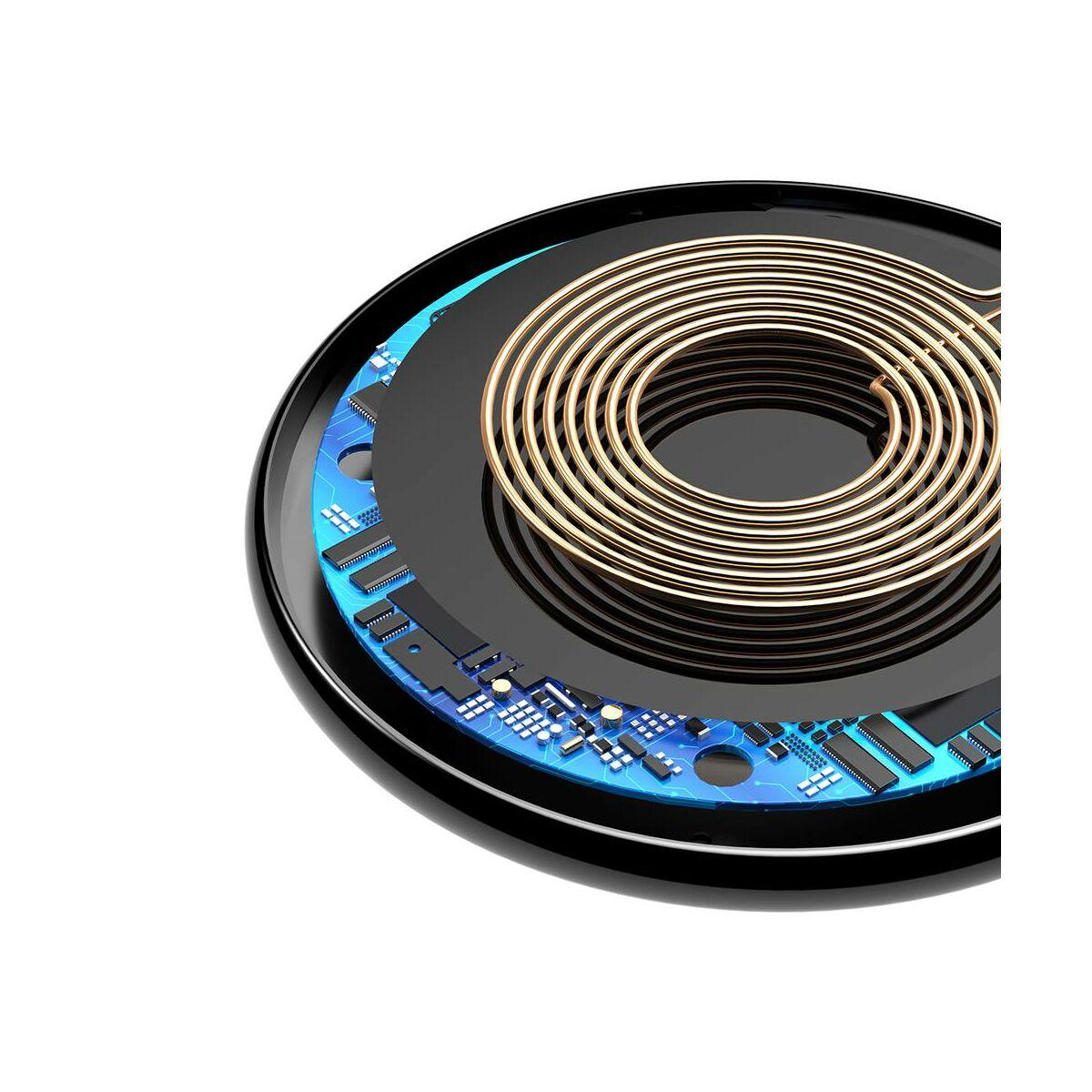 Baseus vezeték nélküli töltő, iX (univerzális), 5W, fekete (WXIX-01)