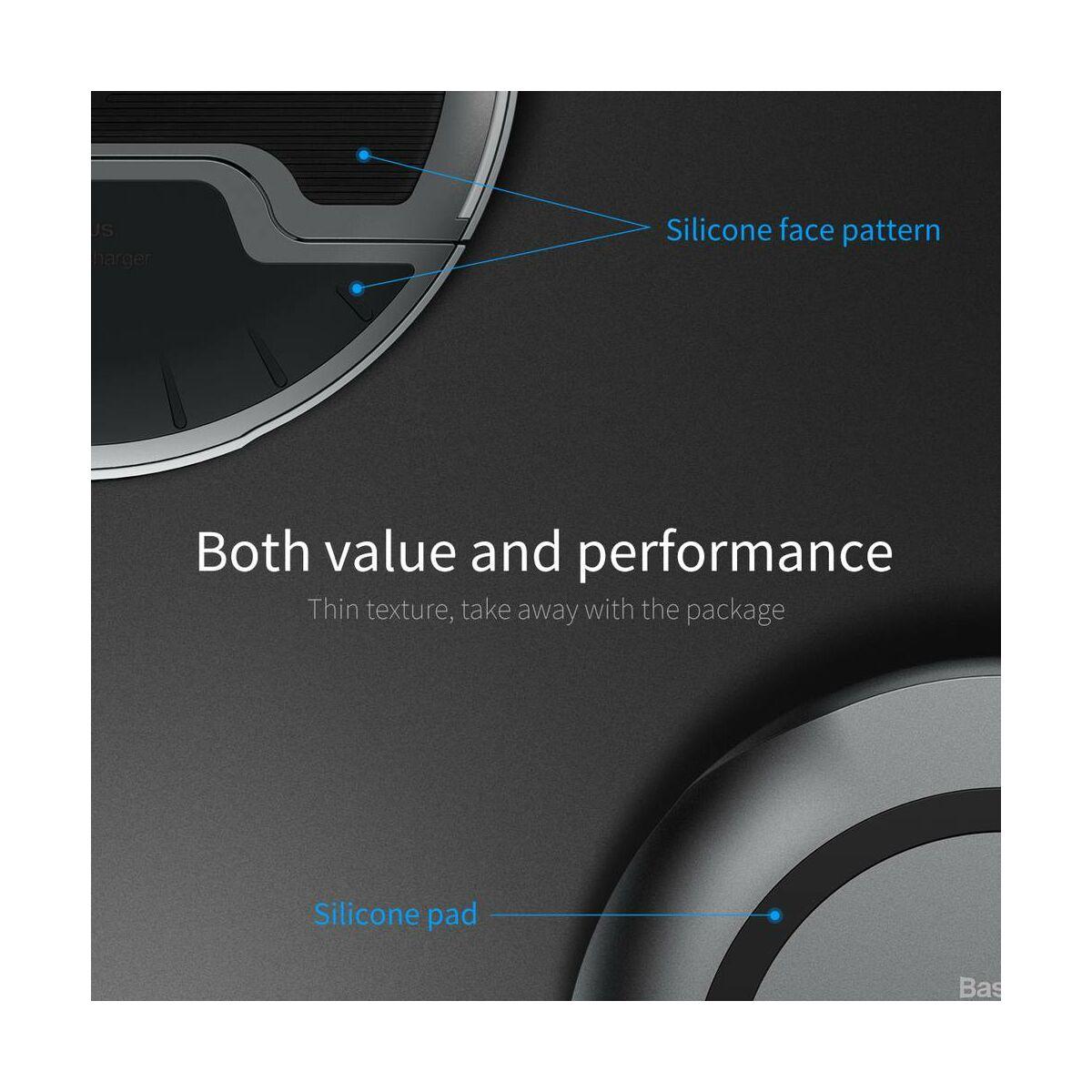 Baseus vezeték nélküli töltő, Foldable Multifunction 10W, fehér-,szürke (WXZD-02)
