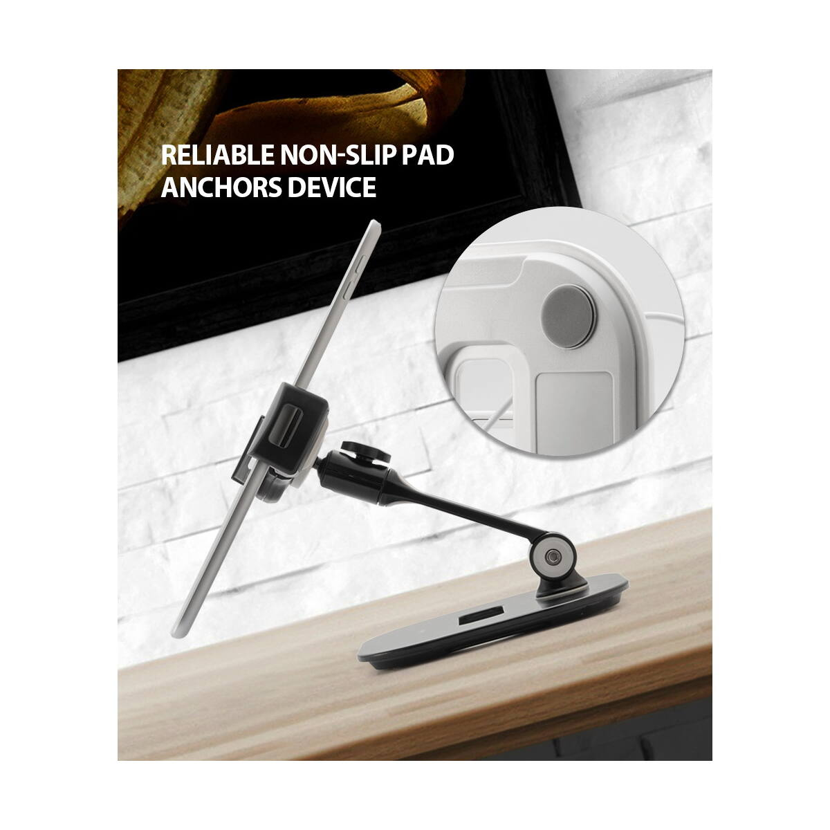 Ringke Tablet tartó, Iron, Fehér