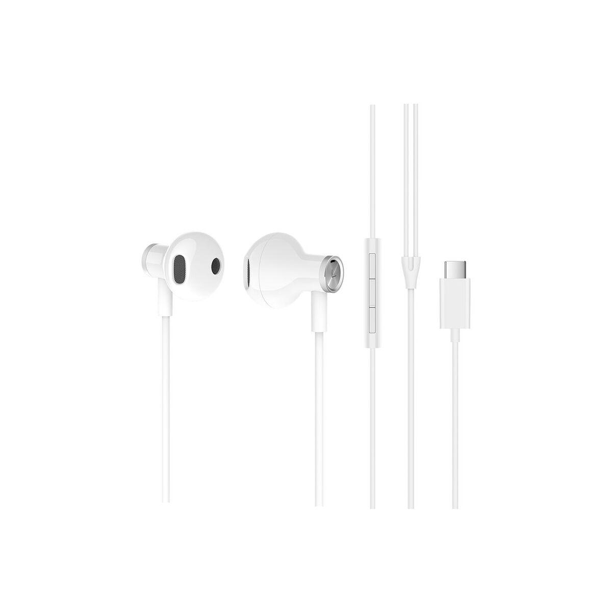 Xiaomi Dual Driver Type-C Earphones, fülhallgató, fehér, EU, ZBW4434TY