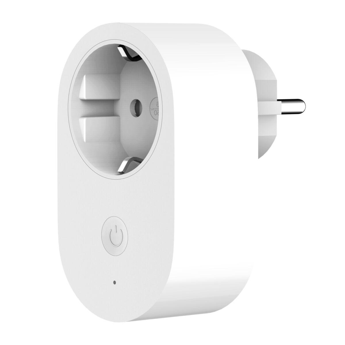 Xiaomi Smart Plug (Wi-Fi), intelligens aljzat, fehér, EU, GMR4015GL