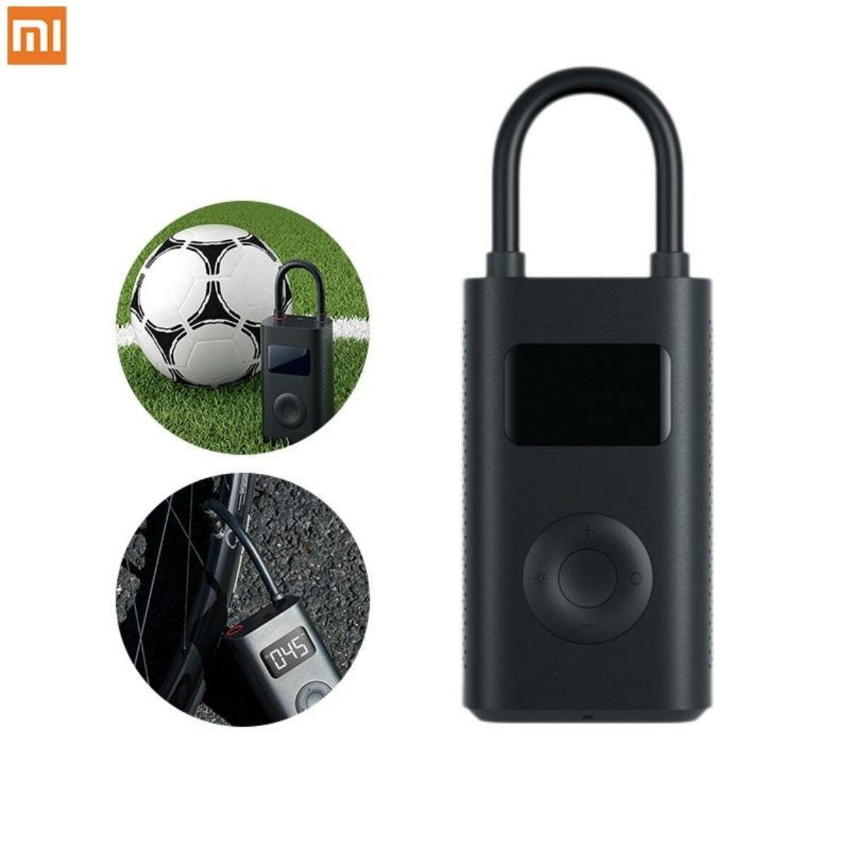 Xiaomi Mi Portable Electric Air Compressor, hordozható légkompresszor, fekete, EU, DZN4006GL
