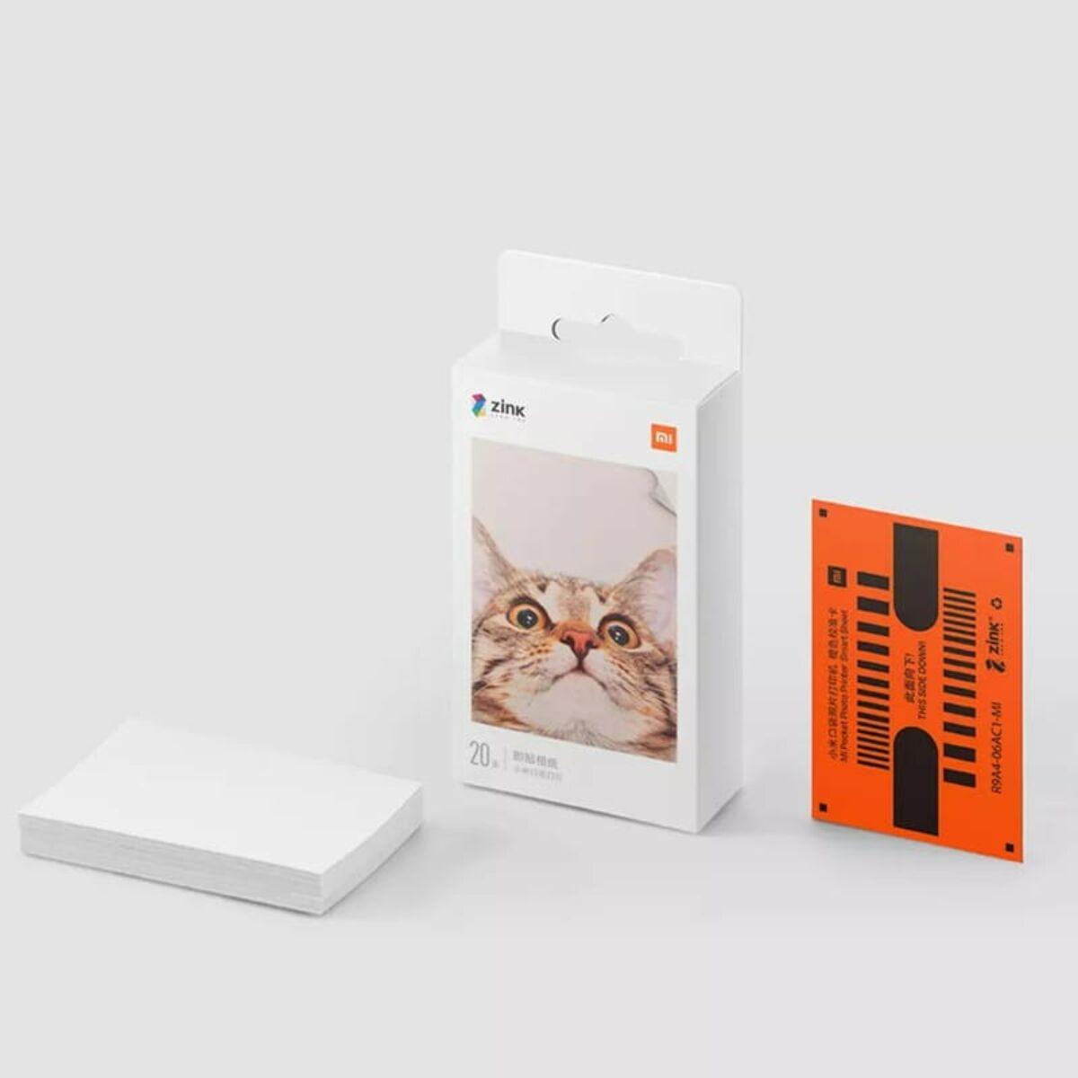 Xiaomi Mi hordozható fotónyomtató papír (2x3-inch, 20db) EU