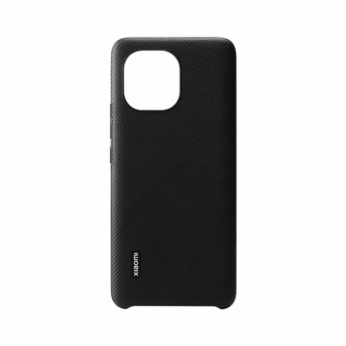 Xiaomi Mi 11 bőr tok Carbon fekete EU BHR4981GL