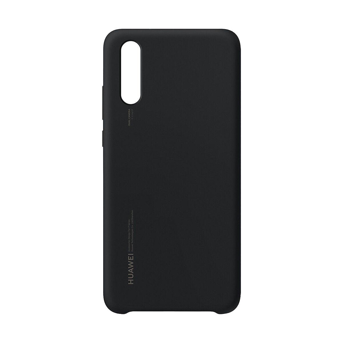 Huawei P20 tok, Silicon Back, fekete