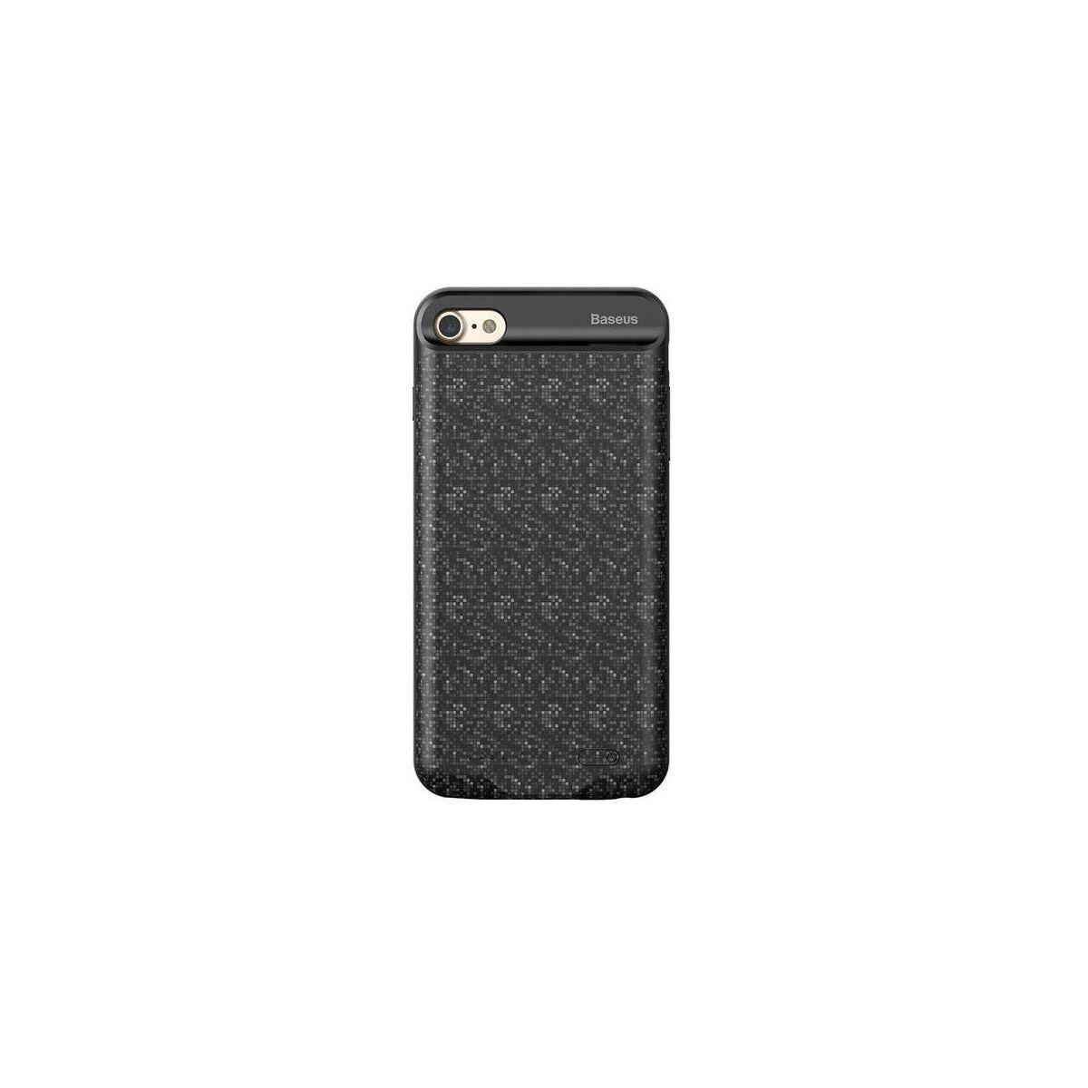 Baseus Power Bank tok, Plaid Backpack 5000 mAh iPhone 6/6s, fekete (ACAPIPH6S-LBJ01)