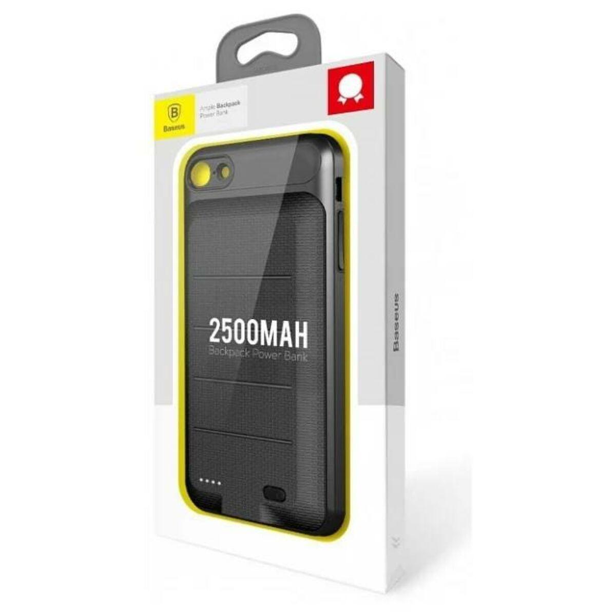 Baseus Power Bank tok, Ample Backpack 2500 mAh iPhone 6/6s, fekete (ACAPIPH6S-XB01)