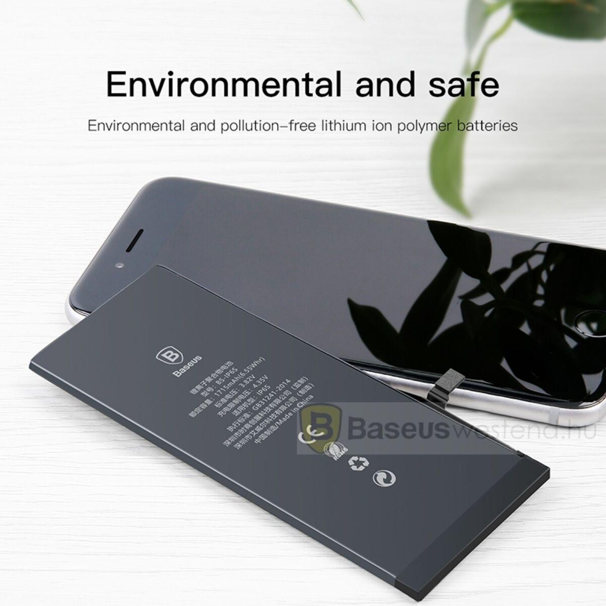 Baseus eredeti kapacitású akkumulátor iPhone 6s-hez, 1715 mAh (ACCB-AIP6S)