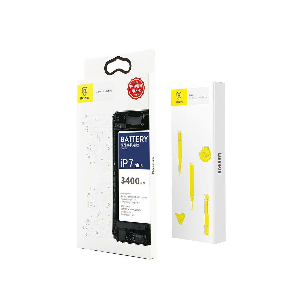 Baseus nagy teljesítményű akkumulátor iPhone 7 plus-hoz, 3400 mAh (ACCB-BIP7P)