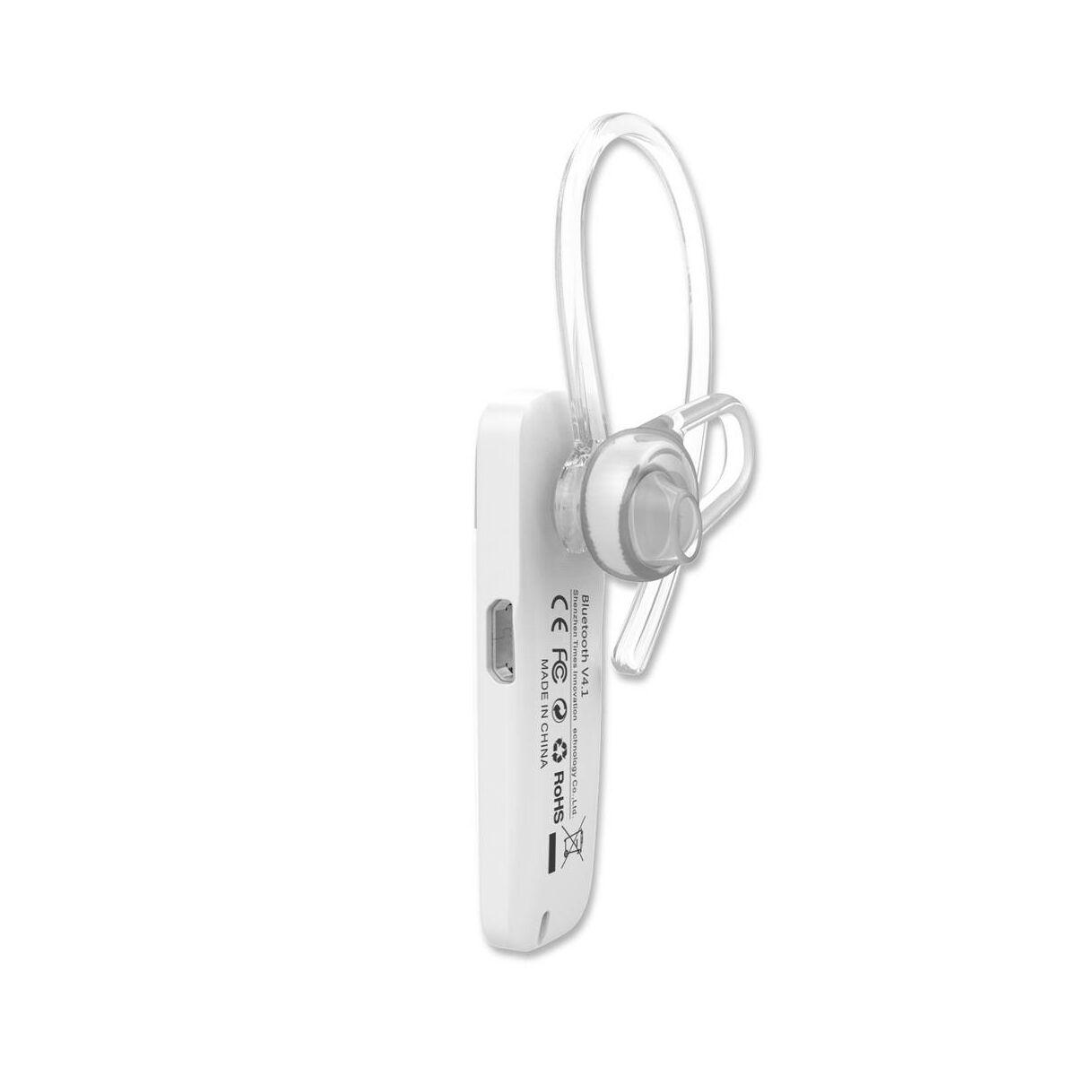 Baseus Headset Bluetooth, Timk series, fehér (AUBASETK-02)