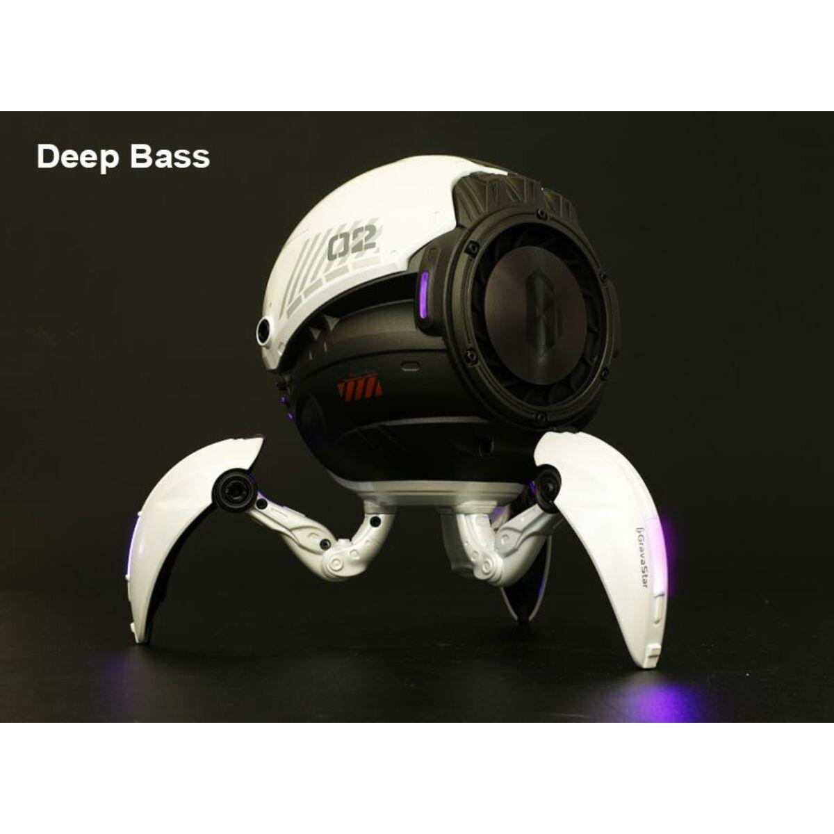 Gravastar hordozható hangszóró, Mars, Bluetooth 5.0, 20W, fehér EU