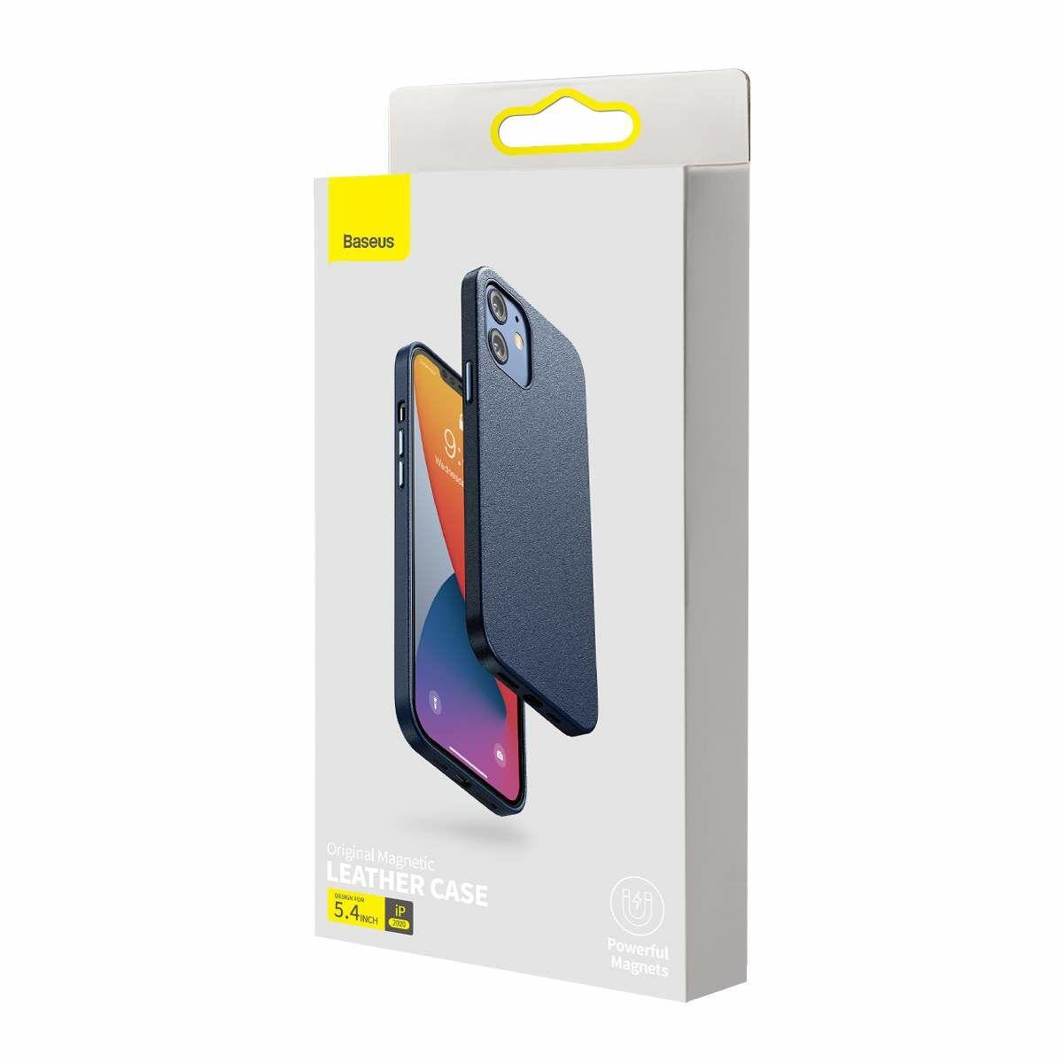 Baseus iPhone 12 mini tok, Original Magnetic, kék (LTAPIPH54N-YP03)