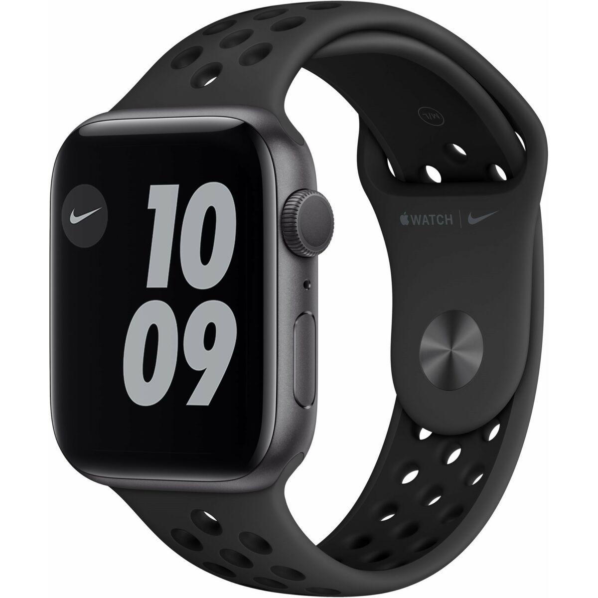 Apple Watch Series 6 Nike GPS 40mm asztro szürke alumínium, Anthracite/Black Nike sport szíj EU M00X3