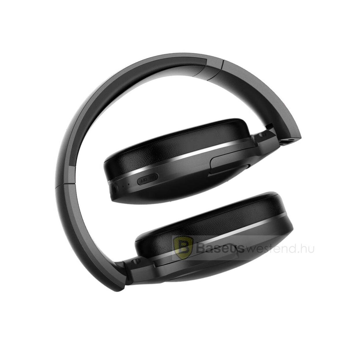 Baseus fejhallgató, Bluetooth Encok D02 vezeték nélküli, fekete (NGD02-01)