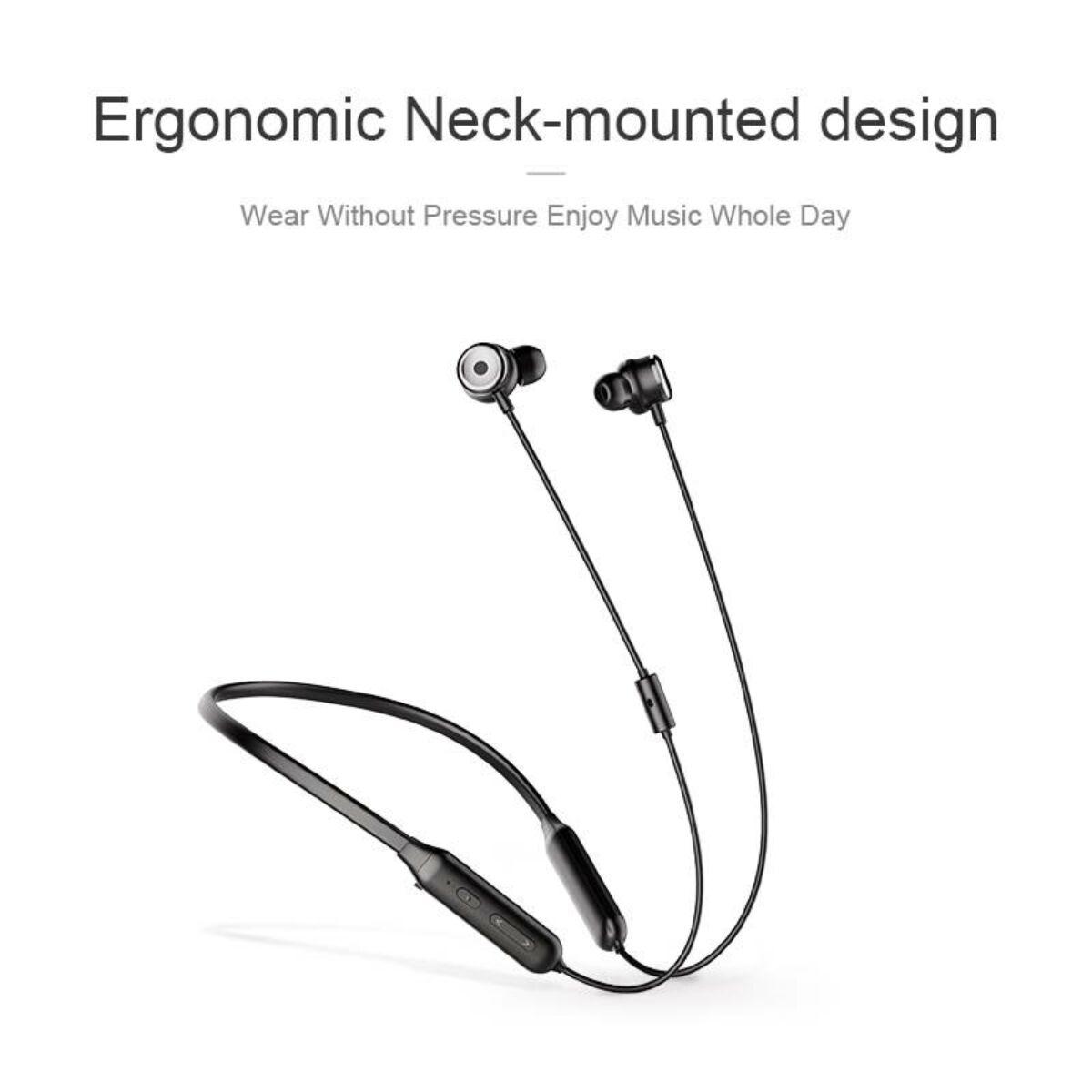 Baseus fülhallgató, Bluetooth SIMU S15, aktív zaj csökkentés, vezeték nélküli, fekete (NGS15-01)
