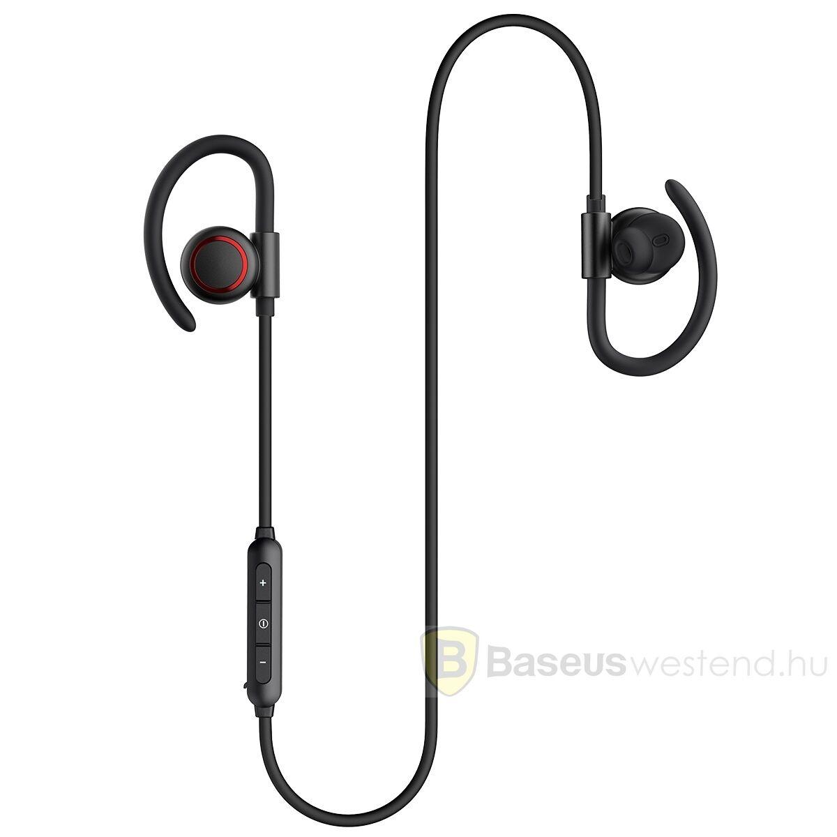 Baseus fülhallgató, Bluetooth Encok S17 vezeték nélküli, fekete (NGS17-01)