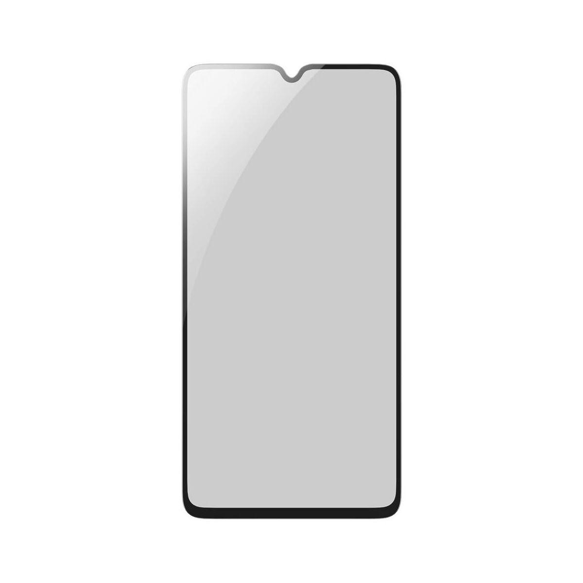 Baseus Huawei Mate 20 0.3 mm, anti-spy edzett üveg képernyővédő fólia, fekete (SGHWMATE20-TG01)